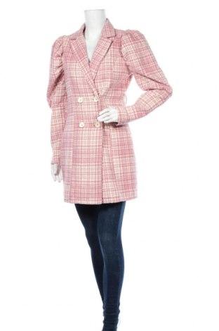 Palton de femei Missguided, Mărime M, Culoare Roz, Poliester, Preț 82,46 Lei