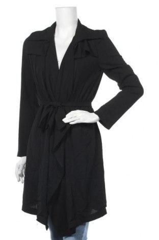 Дамско палто White Closet, Размер M, Цвят Черен, Вискоза, Цена 43,47лв.