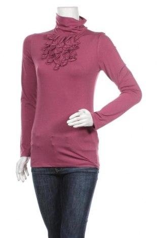 Дамско полo Jacqueline Riu, Размер S, Цвят Розов, 60% полиестер, 33% вискоза, 7% еластан, Цена 10,40лв.