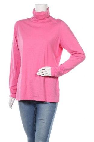 Дамско полo Land's End, Размер XL, Цвят Розов, 56% памук, 38% вискоза, 6% еластан, Цена 15,96лв.