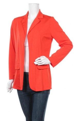 Дамско сако, Размер M, Цвят Оранжев, 65% полиестер, 35% памук, Цена 21,84лв.