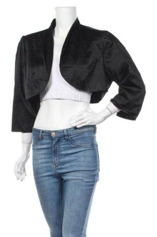 Дамско сако City Chic, Размер XL, Цвят Черен, Полиестер, еластан, Цена 25,20лв.