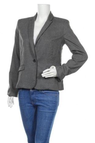 Дамско сако DKNY, Размер M, Цвят Сив, 69% полиестер, 29% вискоза, 2% еластан, Цена 11,28лв.