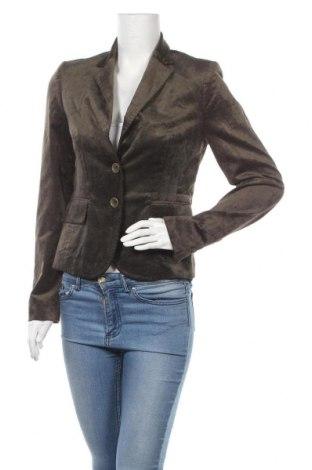 Дамско сако St.Emile, Размер S, Цвят Зелен, 50% памук, 47% вискоза, 3% еластан, Цена 37,26лв.