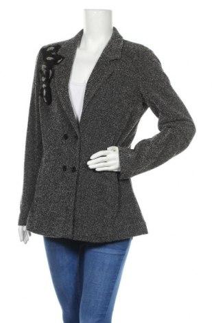 Дамско сако TWINSET, Размер XL, Цвят Черен, 86% полиестер, 14% вискоза, Цена 111,30лв.