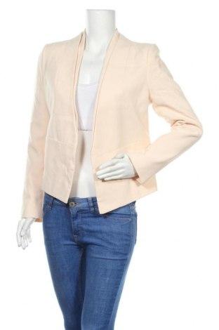 Дамско сако Topshop, Размер L, Цвят Розов, 62% полиестер, 32% вискоза, 6% еластан, Цена 51,75лв.