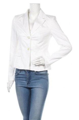 Дамско сако United Colors Of Benetton, Размер M, Цвят Бял, 98% памук, 2% еластан, Цена 19,50лв.
