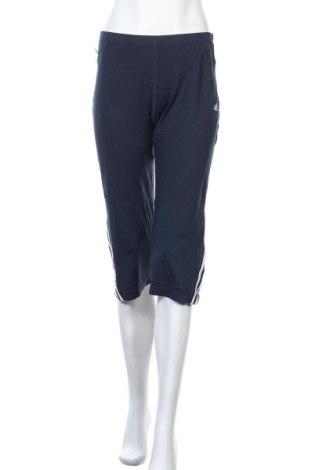 Дамско спортно долнище Adidas, Размер XL, Цвят Син, 92% полиамид, 8% еластан, Цена 30,45лв.