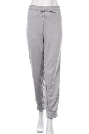 Дамско спортно долнище Adidas, Размер XL, Цвят Сив, Полиестер, Цена 73,50лв.