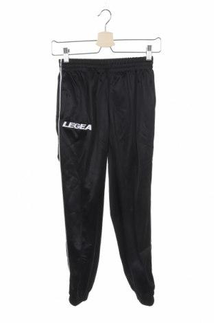 Дамско спортно долнище Legea, Размер XS, Цвят Черен, Полиестер, Цена 17,15лв.