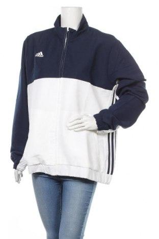 Γυναικεία αθλητική ζακέτα Adidas, Μέγεθος XXL, Χρώμα Λευκό, Πολυεστέρας, Τιμή 30,62€