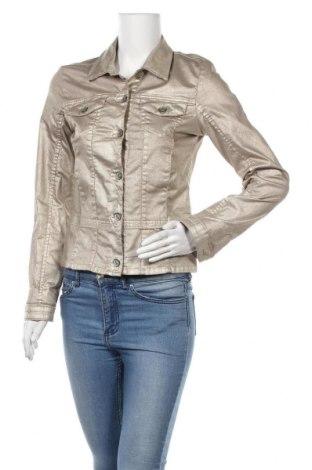 Γυναικείο μπουφάν Monari, Μέγεθος S, Χρώμα  Μπέζ, 70% βαμβάκι, 27% πολυεστέρας, 3% ελαστάνη, Τιμή 29,02€