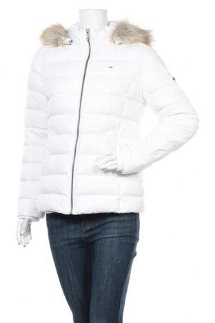 Γυναικείο μπουφάν Tommy Hilfiger, Μέγεθος L, Χρώμα Λευκό, Πολυεστέρας, φτερά και πούπουλα, Τιμή 185,05€