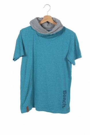 Παιδική μπλούζα Bench, Μέγεθος 15-18y/ 170-176 εκ., Χρώμα Μπλέ, 60% βαμβάκι, 40% πολυεστέρας, Τιμή 10,39€