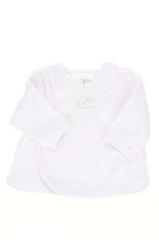 Παιδική μπλούζα Tutto Piccolo, Μέγεθος 2-3m/ 56-62 εκ., Χρώμα Λευκό, Βαμβάκι, Τιμή 7,98€