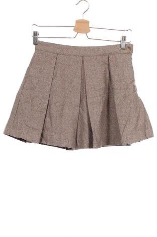 Παιδική φούστα Gocco, Μέγεθος 10-11y/ 146-152 εκ., Χρώμα Καφέ, 77% πολυεστέρας, 19% μαλλί, 2% πολυαμίδη, Τιμή 8,39€