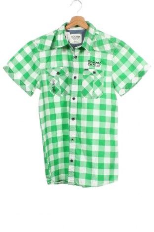 Παιδικό πουκάμισο Cars Jeans, Μέγεθος 15-18y/ 170-176 εκ., Χρώμα Πράσινο, Βαμβάκι, Τιμή 4,09€
