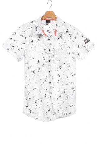 Dětská košile  Chapter, Velikost 12-13y/ 158-164 cm, Barva Bílá, 65% polyester, 35% bavlna, Cena  115,00Kč