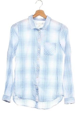 Детска риза H&M L.O.G.G., Размер 12-13y/ 158-164 см, Цвят Син, Памук, Цена 4,46лв.