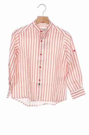 Παιδικό πουκάμισο Pili Carrera, Μέγεθος 5-6y/ 116-122 εκ., Χρώμα Εκρού, Λινό, Τιμή 15,30€