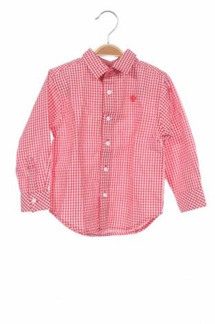 Παιδικό πουκάμισο Tutto Piccolo, Μέγεθος 18-24m/ 86-98 εκ., Χρώμα Κόκκινο, Βαμβάκι, Τιμή 8,30€