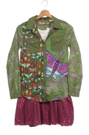 Παιδικό φόρεμα Desigual, Μέγεθος 13-14y/ 164-168 εκ., Χρώμα Πολύχρωμο, 61% πολυεστέρας, 39% βαμβάκι, Τιμή 37,25€