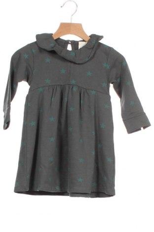 Παιδικό φόρεμα Gocco, Μέγεθος 12-18m/ 80-86 εκ., Χρώμα Πράσινο, 96% βαμβάκι, 4% ελαστάνη, Τιμή 5,63€