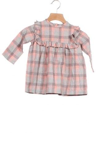 Παιδικό φόρεμα Little Celebs, Μέγεθος 12-18m/ 80-86 εκ., Χρώμα Γκρί, 60% βαμβάκι, 40% πολυεστέρας, Τιμή 18,44€