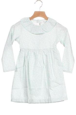 Παιδικό φόρεμα Little Celebs, Μέγεθος 3-4y/ 104-110 εκ., Χρώμα Πράσινο, 60% βαμβάκι, 40% πολυεστέρας, Τιμή 18,44€