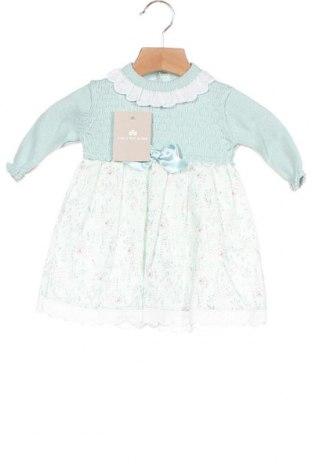 Παιδικό φόρεμα Lola Palacios, Μέγεθος 3-6m/ 62-68 εκ., Χρώμα Μπλέ, Βαμβάκι, Τιμή 19,56€