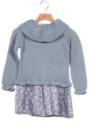 Παιδικό φόρεμα Lola Palacios, Μέγεθος 2-3y/ 98-104 εκ., Χρώμα Μπλέ, Βισκόζη, Τιμή 19,56€