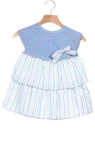 Παιδικό φόρεμα Paz Rodriguez, Μέγεθος 12-18m/ 80-86 εκ., Χρώμα Μπλέ, Βαμβάκι, Τιμή 33,49€