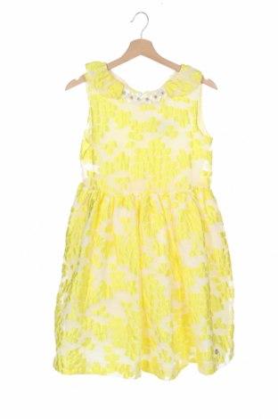 Παιδικό φόρεμα Pili Carrera, Μέγεθος 11-12y/ 152-158 εκ., Χρώμα Κίτρινο, 72% πολυεστέρας, 28% πολυαμίδη, Τιμή 37,25€