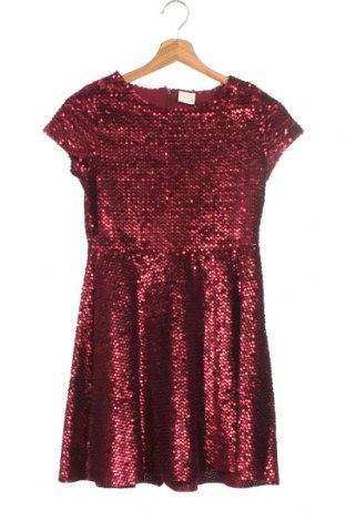 Παιδικό φόρεμα Zara, Μέγεθος 11-12y/ 152-158 εκ., Χρώμα Κόκκινο, Βαμβάκι, Τιμή 14,84€
