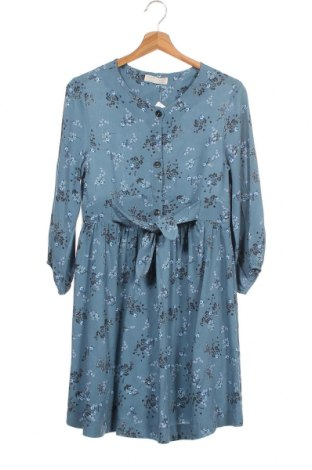 Παιδικό φόρεμα Zara Kids, Μέγεθος 12-13y/ 158-164 εκ., Χρώμα Μπλέ, Βισκόζη, Τιμή 23,45€