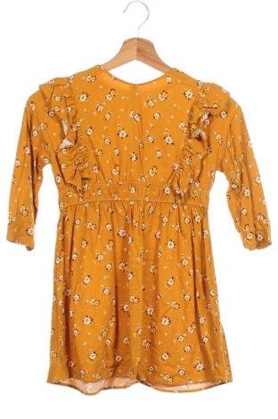 Παιδικό φόρεμα Zara Kids, Μέγεθος 7-8y/ 128-134 εκ., Χρώμα Κίτρινο, Βισκόζη, Τιμή 14,25€