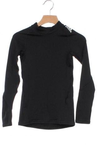 Dětská sportovní halenka  Adidas, Velikost 7-8y/ 128-134 cm, Barva Černá, 86% polyester, 14% elastan, Cena  450,00Kč