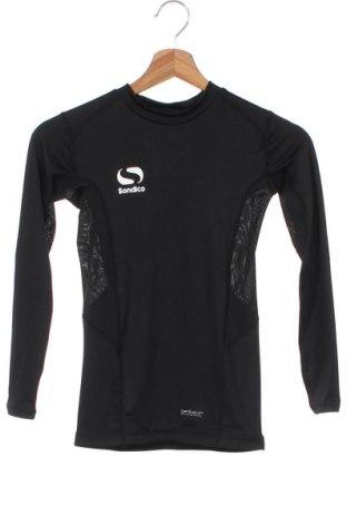 Παιδική μπλούζα αθλητική Sondico, Μέγεθος 8-9y/ 134-140 εκ., Χρώμα Μαύρο, 92% πολυεστέρας, 8% ελαστάνη, Τιμή 4,76€