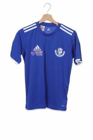 Παιδικό μπλουζάκι Adidas, Μέγεθος 13-14y/ 164-168 εκ., Χρώμα Μπλέ, Πολυεστέρας, Τιμή 12,28€
