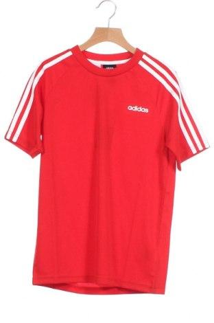 Παιδικό μπλουζάκι Adidas, Μέγεθος 10-11y/ 146-152 εκ., Χρώμα Κόκκινο, Πολυεστέρας, Τιμή 4,26€