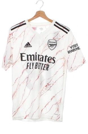 Παιδικό μπλουζάκι Adidas, Μέγεθος 15-18y/ 170-176 εκ., Χρώμα Λευκό, Πολυεστέρας, Τιμή 22,81€