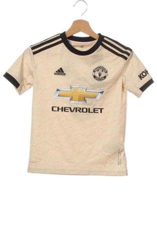 Παιδικό μπλουζάκι Adidas, Μέγεθος 8-9y/ 134-140 εκ., Χρώμα  Μπέζ, Πολυεστέρας, Τιμή 22,81€