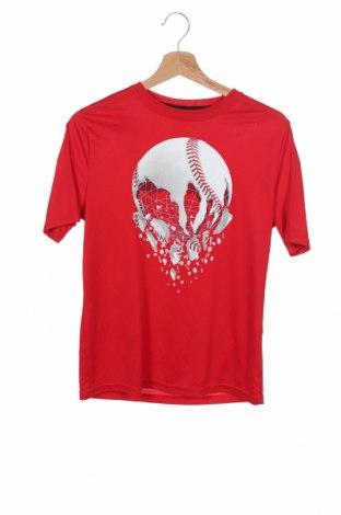 Παιδικό μπλουζάκι Athletic, Μέγεθος 15-18y/ 170-176 εκ., Χρώμα Κόκκινο, Πολυεστέρας, Τιμή 8,64€