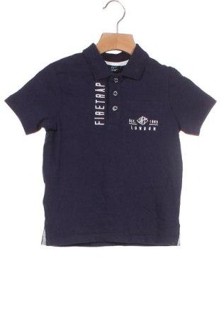 Παιδικό μπλουζάκι Firetrap, Μέγεθος 18-24m/ 86-98 εκ., Χρώμα Μπλέ, Βαμβάκι, Τιμή 4,33€