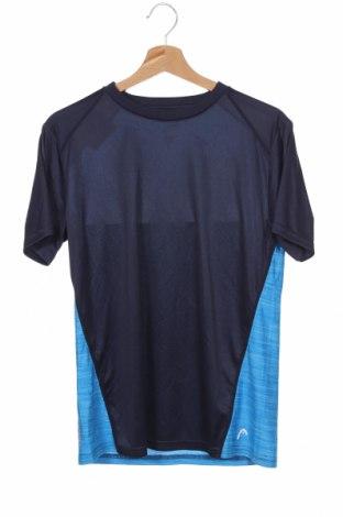 Παιδικό μπλουζάκι Head, Μέγεθος 14-15y/ 168-170 εκ., Χρώμα Μπλέ, Πολυεστέρας, Τιμή 10,39€