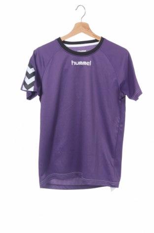 Παιδικό μπλουζάκι Hummel, Μέγεθος 14-15y/ 168-170 εκ., Χρώμα Βιολετί, Πολυεστέρας, Τιμή 6,96€