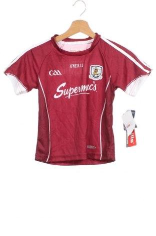 Детска тениска O'Neills, Размер 5-6y/ 116-122 см, Цвят Червен, Полиестер, Цена 7,36лв.