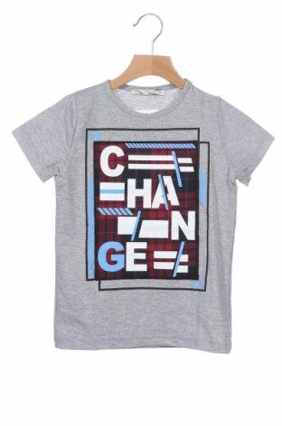 Παιδικό μπλουζάκι Ollie Olla, Μέγεθος 5-6y/ 116-122 εκ., Χρώμα Γκρί, 60% βαμβάκι, 32% πολυεστέρας, 8% ελαστάνη, Τιμή 11,21€