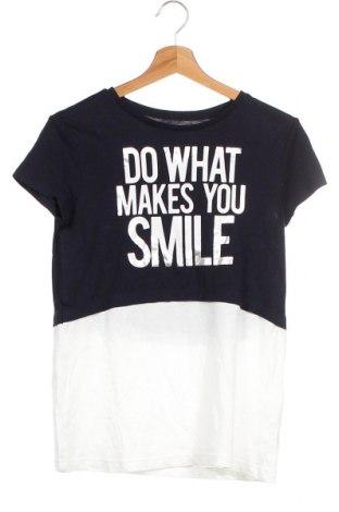 Детска тениска Oviesse, Размер 13-14y/ 164-168 см, Цвят Син, Памук, Цена 18,95лв.