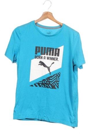 Παιδικό μπλουζάκι PUMA, Μέγεθος 12-13y/ 158-164 εκ., Χρώμα Μπλέ, Τιμή 12,06€